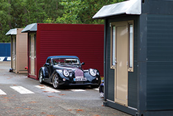 Travel Destinations' Flexotel Village at the Le Mans Classic