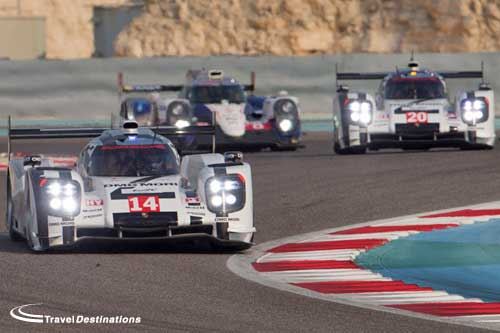 porsches-start-bahrain