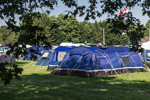 Public on circuit campsites at Le Mans 2020