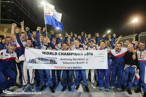 Toyota Drivers Are World Endurance Champions