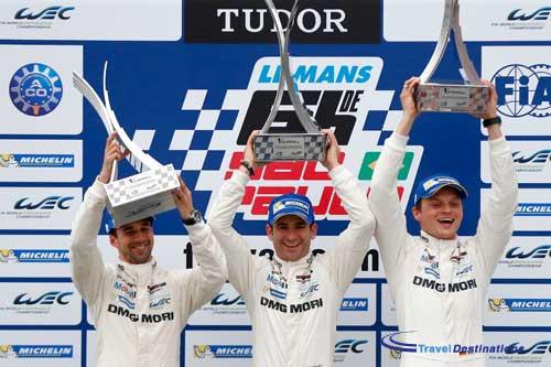 Porsche win the race, Toyota win the Championship