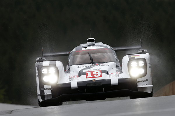 Porsche miss out at Spa