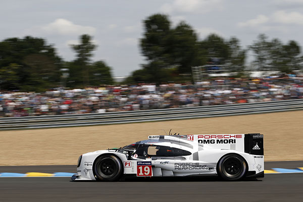 Porsche are champions at Le Mans 2015