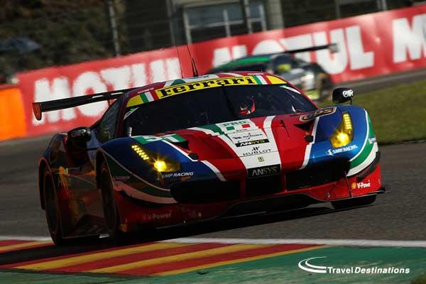 AF Corse Ferrari at Spa