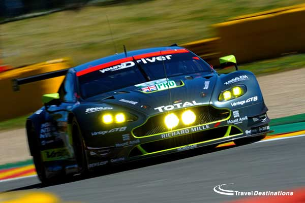 Aston Martin at Spa