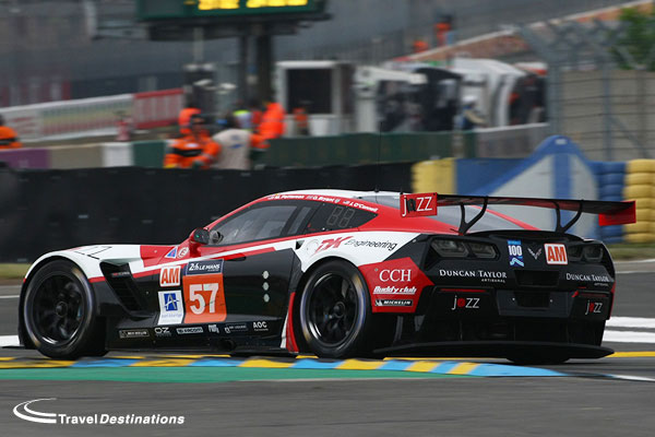 Team AAI at Le Mans 2016