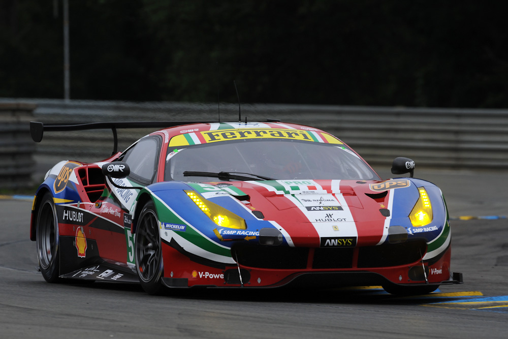 Ferrari at Le Mans 2016