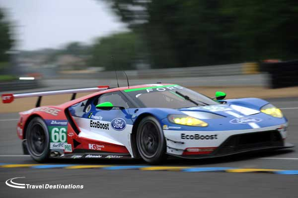 Ford GT at Le Mans 2016