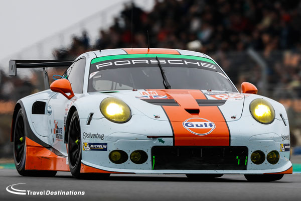 Gulf Racing UK at Le Mans 2016