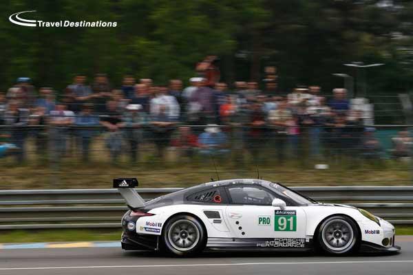 Porsche at Le Mans 2016