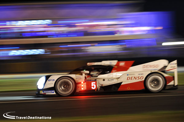 Toyota at Le Mans 2016