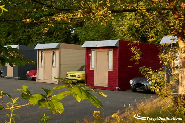 Pop up hotel at Le Mans