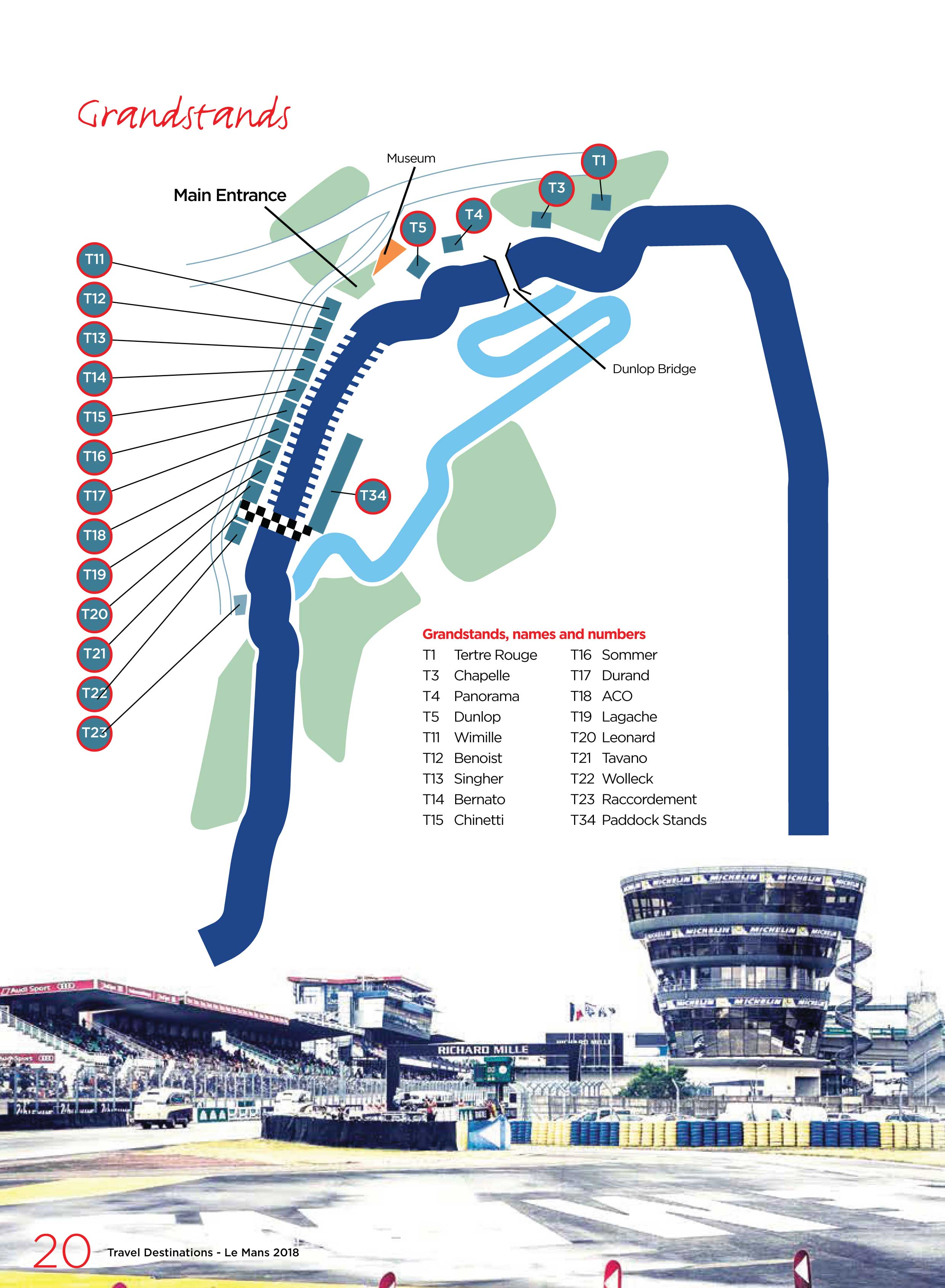 Le Mans Grandstands