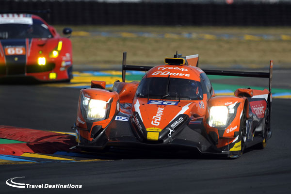 G-Drive Racing at Le Mans
