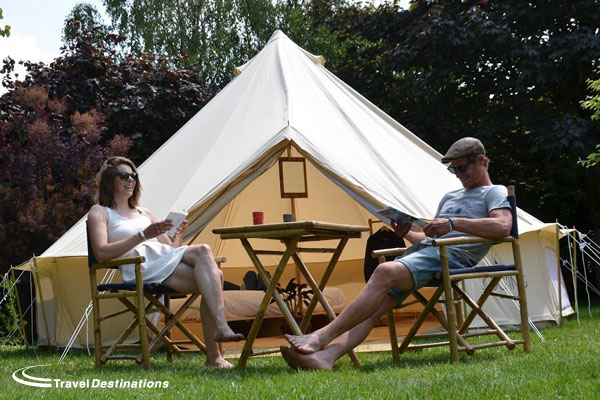GLAMPING AT CASTELS LE CHATEAU DE CHANTELOUP